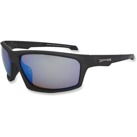 Camp and Hike Offering 100% UV protection from the sun on bright days, the Pepper's Trigger polarized sunglasses are a great choice for sun fun. - $44.95