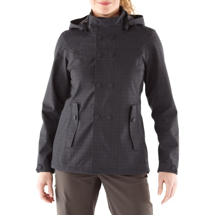 This street-smart jacket is perfect for travels where you need wet-weather protection. The REI Madrona z[plus-size jacket is fully seam sealed and blocks wind to 60 mph. - $68.83
