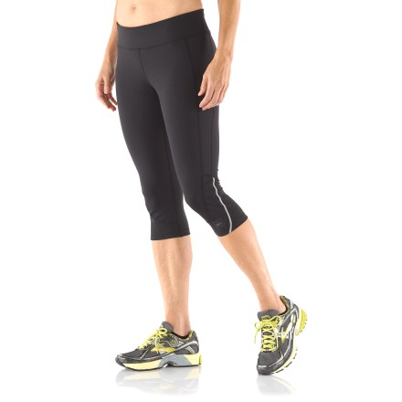 Fitness From jogs to the gym to spin class or cross training, the plus-size REI Fleet Capris keep you comfortable no matter the activity. - $23.83