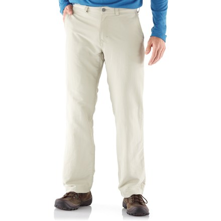 Camp and Hike Named after our own travel company, the REI Adventures pants offer quick-drying convenience and travel-savvy details that are a perfect match for trips out of the country. - $23.83
