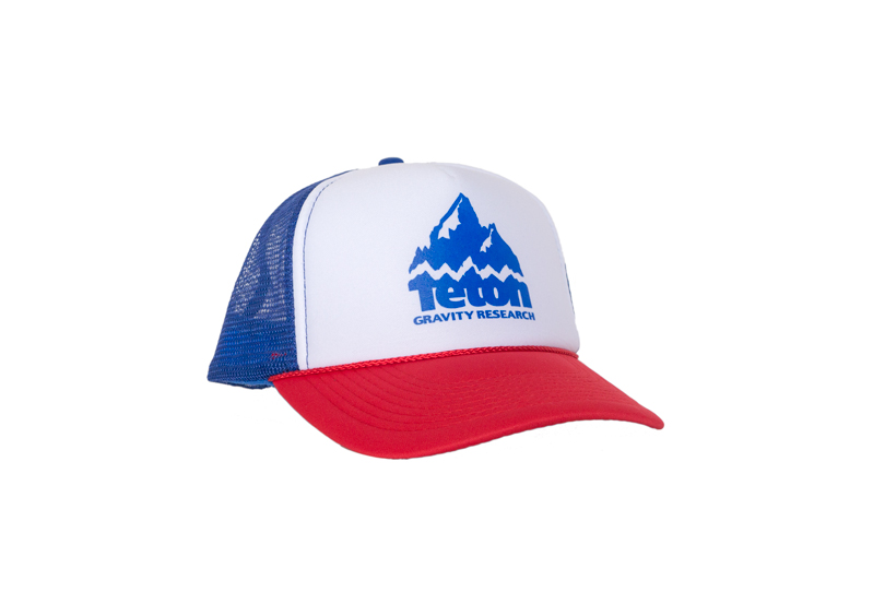 Ski Whether you just got done shredding pow, or floating down the river, the Teton Gravity Research Foam Trucker hat will cover your dome.   100% Polyester Front  100% Nylon Mesh Back  Snap back adjustment  Matching Fabric Undervisor - $19.95