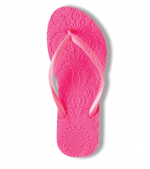 Surf O'Neill Marrakesh Sandals.  Embossed rubber flip flop with embossed footbed and logo embossed PVC strap. - $10.99