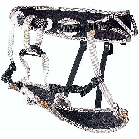 Climbing Free Shipping. Camp USA Blitz Climbing Harness DECENT FEATURES of the Camp USA Blitz Climbing Harness Mountaineering, Alpinism, Ice Climbing Soft, hydrophobic materials for extreme lightweight and comfort All-mountain functionality allows the harness to be stripped off without removing crampons or skis 2 sizes cover a range from S-XL 4 gear loops Drop seat Hub racking biner compatible The SPECS Weight (small): 205 g, 7.2 oz Small: Waist - 60 - 80 cm, 24 - 31.5 in | Legs - 52 - 65 cm, 20.5 - 26 in Large: Waist - 84 - 104 cm, 33 - 41 in | Legs - 57 - 70 cm, 22.5 - 27.5 in - $54.95
