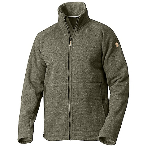 Free Shipping. Fjallraven Men's Fleece No. 26 The SPECS 44% wool, 39% polyester, 17% polyamide G-1000 Eco, 65% polyester, 35% cotton Contains non-textile parts of animal origin (leather details) - $399.95