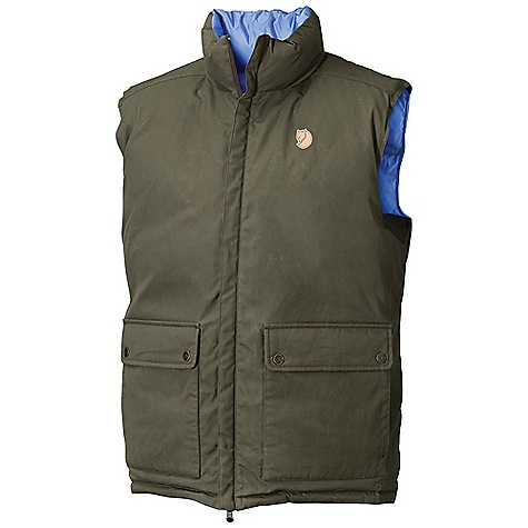 Free Shipping. Fjallraven Men's Down Vest No. 6 The SPECS Weight: (M): 763 g Fill Weight: (M): 230 g Fill Power: 700 cubic inches Fill: 95% goose down, 5% feather G-1000 Eco, 65% polyester, 35% cotton 100% polyamide Contains non-textile parts of animal origin (leather details) - $449.95