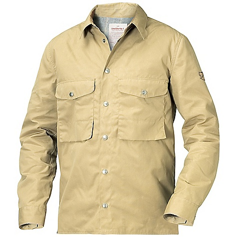 Free Shipping. Fjallraven Men's Lined Shirt No. 1 The SPECS Comfort fit Lining: 60% wool, 30% polyester, 5% polyamide, 5% other fibers Contains non-textile parts of animal origin (leather details) G-1000 Eco: 65% polyester, 35% cotton - $399.95