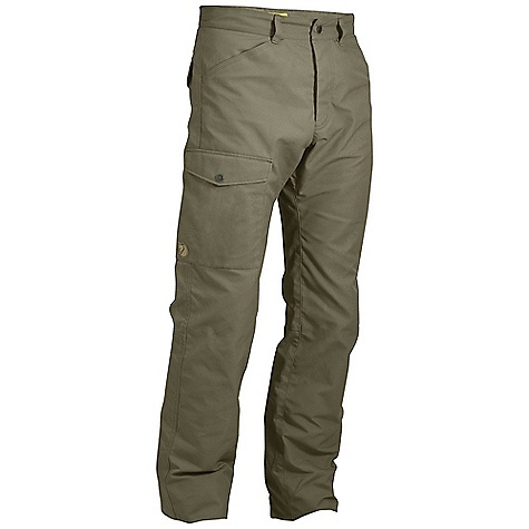 Free Shipping. Fjallraven Men's Trousers No. 26 The SPECS Weight: (M): 778 g Fit/Waist: Regular Fit/Mid Waist Reinforcement: Yes Leg Ending: Raw Length Leg Type: Full Leg Cotton Contains non-textile parts of animal origin (leather details) G-1000 Heavy Duty: 65% polyester, 35% - $304.95