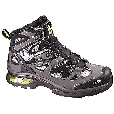 Camp and Hike Free Shipping. Salomon Men's Comet 3D GTX Boot FEATURES of the Salomon Men's Comet 3D GTX Boot Upper: Protective Rubber Toe Cap Heel Strap Heel Foam Gusseted Tongue Outsole: Non Marking Contagrip Chassis: 3D Advanced Chassis Midsole: Molded EVA Sockliner: Ortholite - $209.95