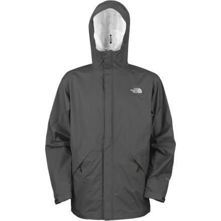 Entertainment Similar to their classic Venture Jacket, The North Face Men's Venture Parka has a slightly longer back length but the same waterproof breathable Hyvent fabric to keep you dry. At just over 15-ounces this rain jacket packs down small and stows away in your luggage or day pack easily. Unlike other rain jackets the Venture Parka has long underarm zips so you can let some cool air circulate inside, from the city streets to wet trails. - $64.97