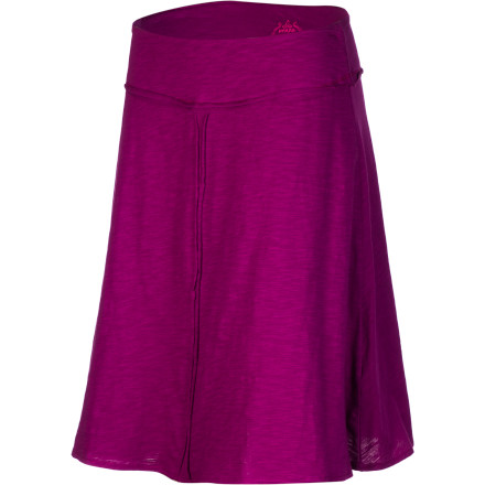 When the breeze is warm and the days seem endless, complement the season with the prAna Women's Dahlia Skirt. The A-line skirt features soft organic cotton and raw-edge seams to produce an earthy feel and a cute look. - $49.95
