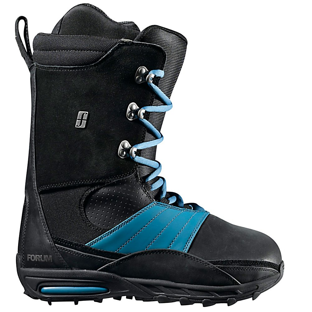 Snowboard Forum The Formula Snowboard Boots - E=mc2 but formula equals the sum of all parts that are man. The Forum Formula is the equation for domination packed with the best technology any boot can have. Tweaker Cuff NexTreme which is exclusively on the Formula is a injected accordion style cuff that maximizes medial flex and feel. Tweaker Liner Panel flexes naturally, maximizing the benefits of Tweaker while providing a more comfortable ride with no gaps or pressure points, no matter how hard you shred, press, or tweak. Footpillow Footbed provides the cushion along with the Glory Sole with Simmer Down provides ergonomic support while ripping on the mountain. With all this tech the Formula is a comfortable platform that will allow use to crack into mathematically impossible spins and grabs. Features: inSlick makes mornings smoother with a slippery spandex panel that allows feet to slide in on the first try, Tweaker Cuff NexTreme- injected accordion style cuff maximizes medial flex and feel. Material: Level 4 Liner with FGel, Lacing Style: Traditional Lace, Snowboard Best Use: Freestyle, Removable Liner: Yes, Flex: Medium, Warranty: One Year, Intuition Liner: No, Brand Lacing Style: Traditional, Skill Range: Advanced Intermediate - Expert, Model Year: 2013, Product ID: 308285, Gender: Mens, Skill Level: Advanced Intermediate, Model Number: 275314-411 8 - $99.95