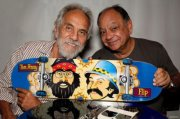Skateboard Cheech & Chong