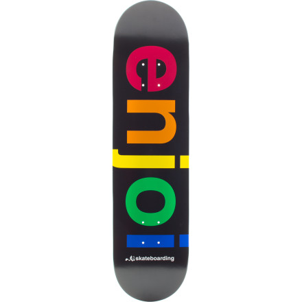 Skateboard Being the proud owner of the Enjoi Spectrum Skate is something you can actually be proud of. - $39.96