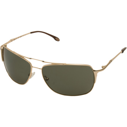 Camp and Hike The metal Rosewood Sunglasses from Smith are polarized to present you the clearest view of the open road or the open sea. Welcome to razor-sharp, glare-free vision as you knock off mile after mile of unfiltered western roads or nautical mile after mile of clear blue.Aviators provide medium coverage for small and medium size heads Frame design blends the best of the navigator and aviator styles Eight-base lens follows the curve of your face Adjustable silicone nose pads won't irritate the bridge of your nose - $23.11