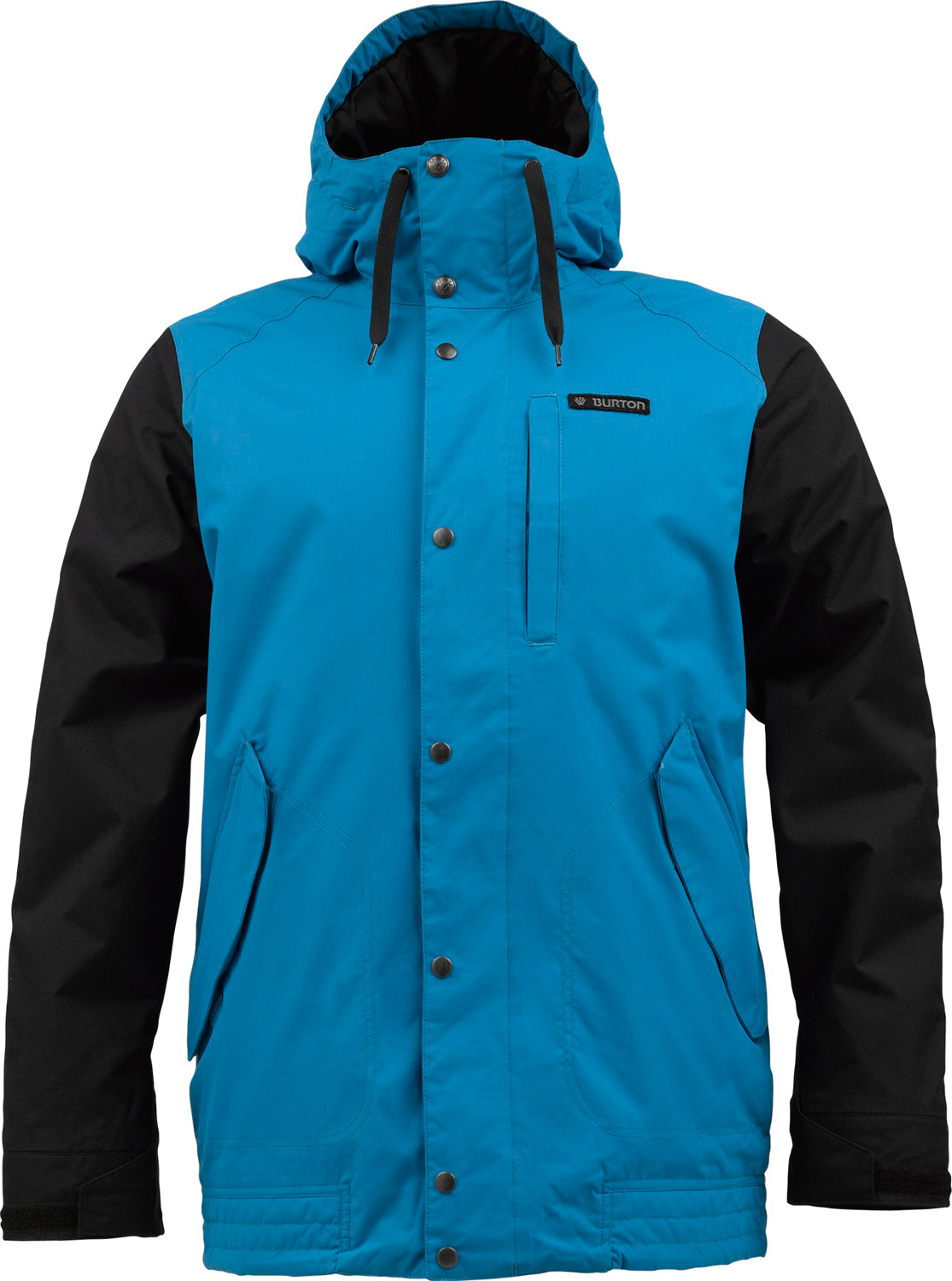 Snowboard No need to shoplift, it's a steal. Podium-grade performance at a ridiculous price.Key Features of the Burton TWC Throttle Snowboard Jacket: 10,000mm Waterproof 10,000g Breathability Sig Fit Waterproofing: DRYRIDE Durashell™ 2-layer Fabric Warmth: mapped with thermacore™ insulation [60G Body / 40G Sleeves] and taffeta lining Mesh-lined Pit Zips™ critically taped Seams Fulltime hood Magic Stitch waist Gaiter with Jacket-to-Pant interface includes Men's the white collection Jacket Features Package DRYRIDE Fabrication with DWR Coating Pit Zips™ Zippered, Microfleece-Lined Handwarmer Pockets Articulated Sleeves Hood Cinch Adjustable Cuff Closures Pass Pocket Pocket Key Clip Waist Gaiter with Jacket-to-Pant Interface Pocket Access Hem Cinch Sound Pocket Goggle Pocket - $118.95