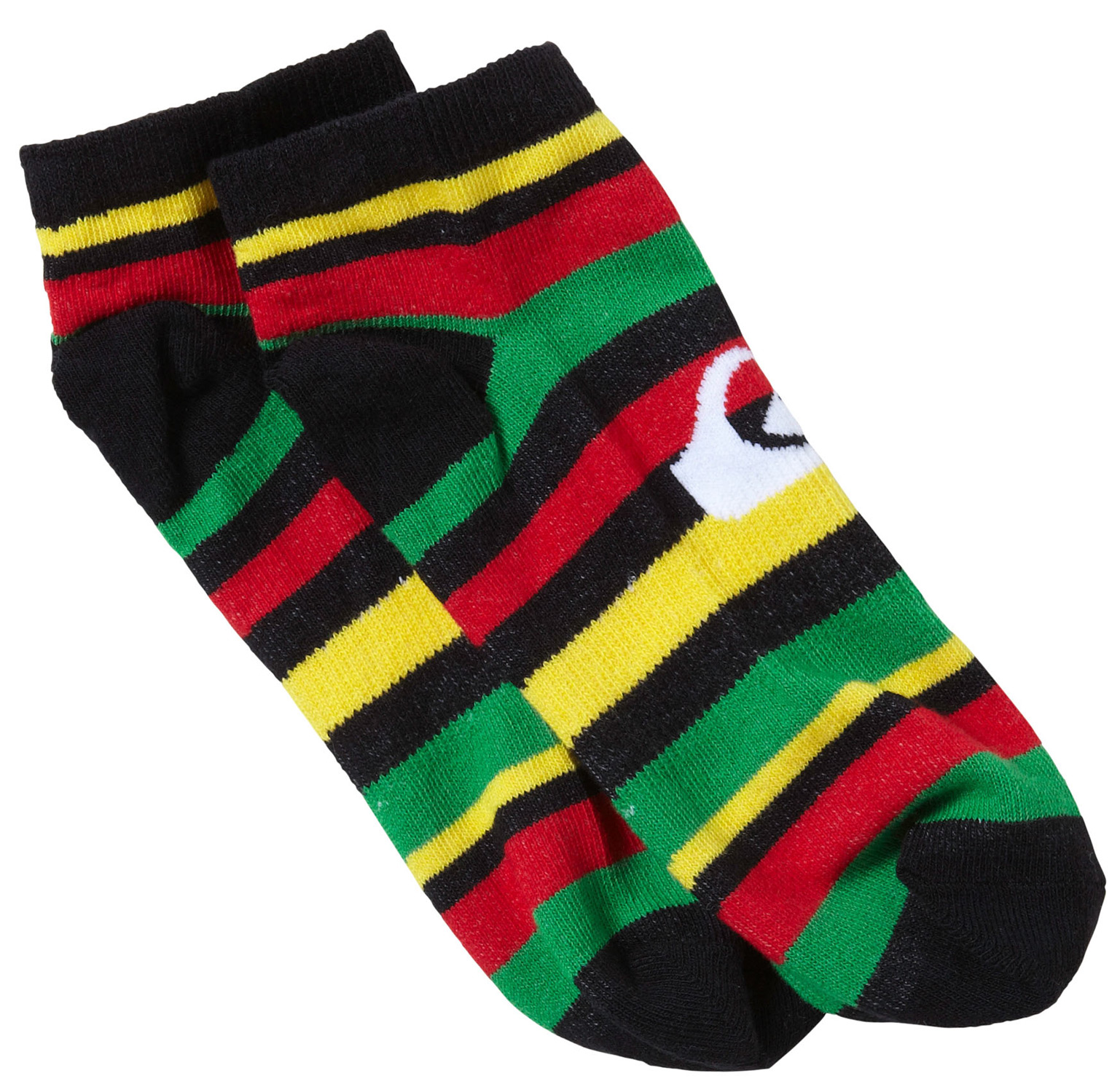 Surf Key Features of the Quiksilver Fixed Socks: 80% cotton, 10% n ylon, 10% sp andex Assorted art ankle sock with mountain wave logo - $7.00