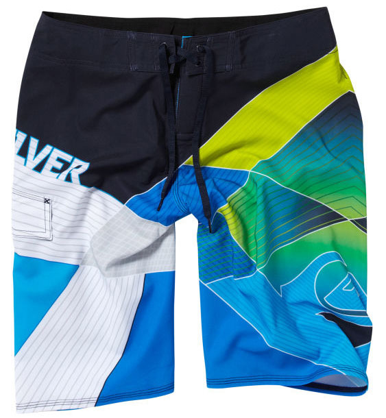 "Surf Key Features of the Quiksilver Driver Boardshorts: 93% polyester/7% spandex Water repellent 4 way stretch 21"" outseam Classic tie closure with Velcro at fly Stretch stitch at hems Lycra at inside front rise - $40.95"