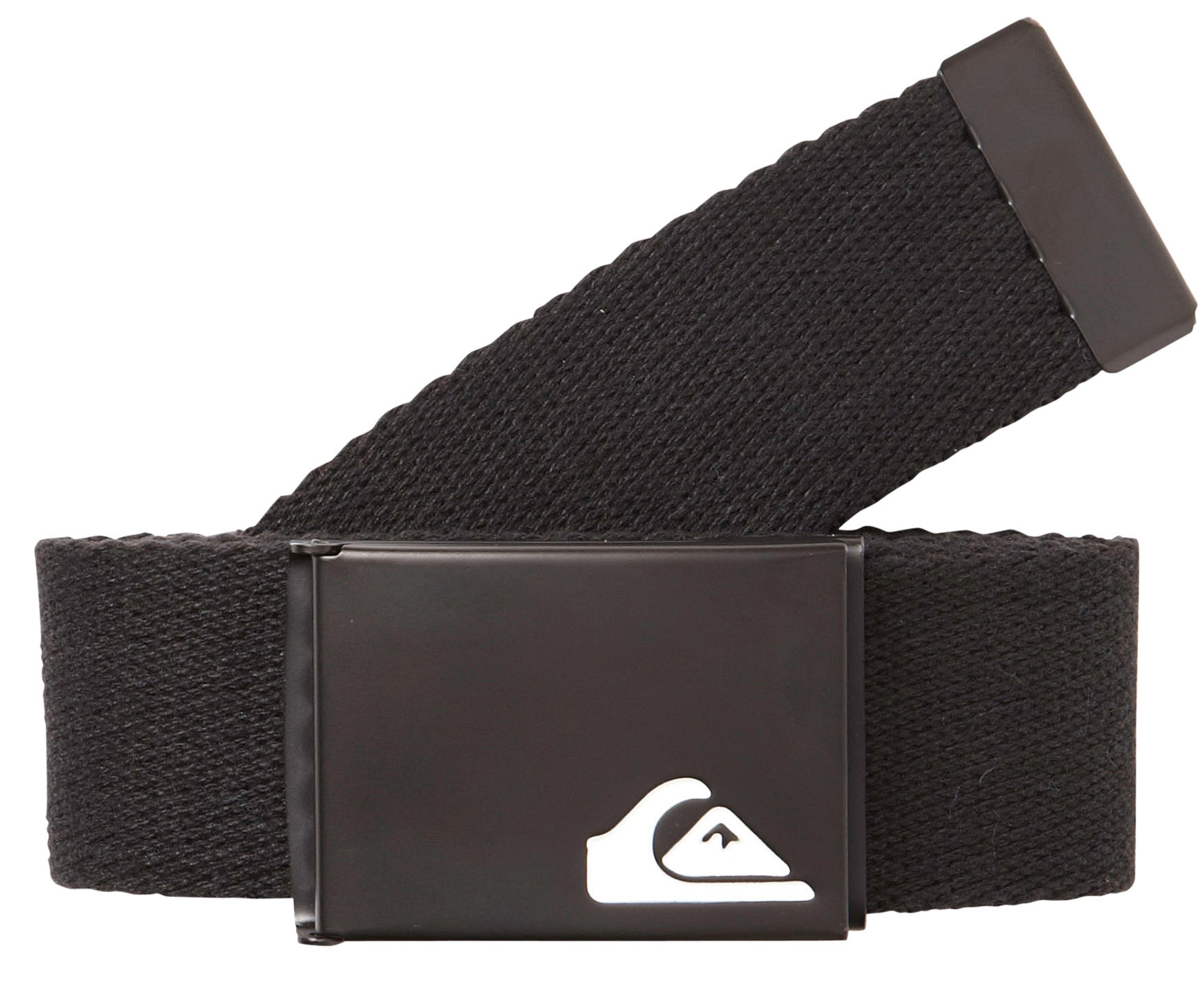 Surf Key Features of the Quiksilver The Jam Belt: 100% Cotton 1.5 inch belt with enamel filled embossed mountain wave logo on a black clamp buckle . PFC and CUR will have a 2 color reversible strap. - $12.00