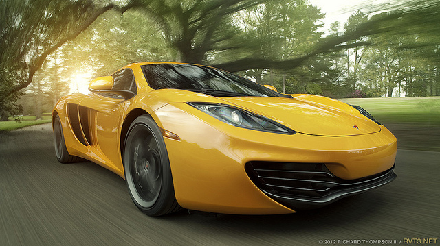 Auto and Cycle MP4-12C