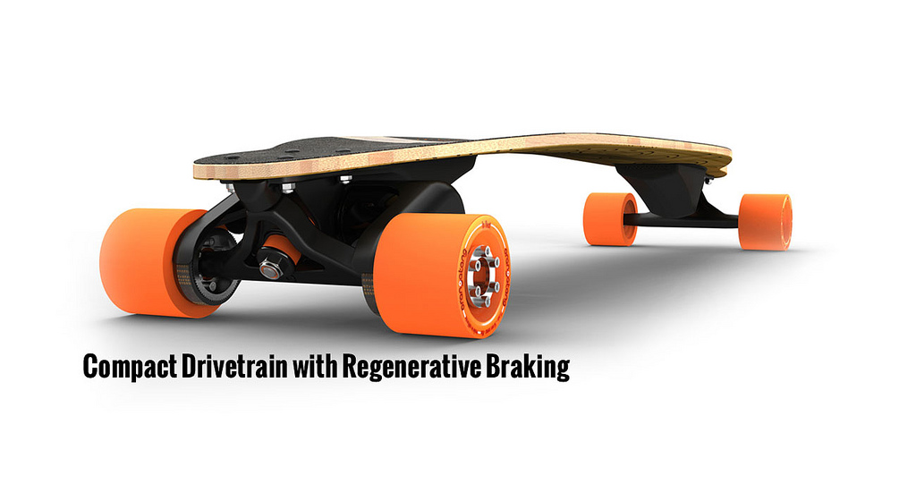 Skateboard The world's lightest electric vehicle