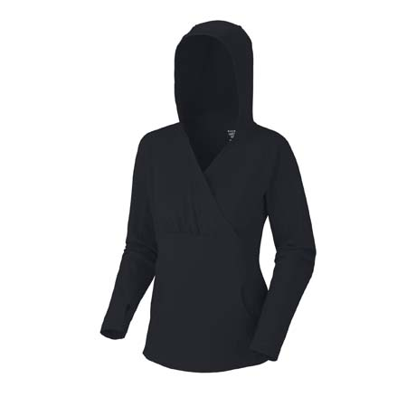 Fitness High Step Hoodie ladies black - $42.00