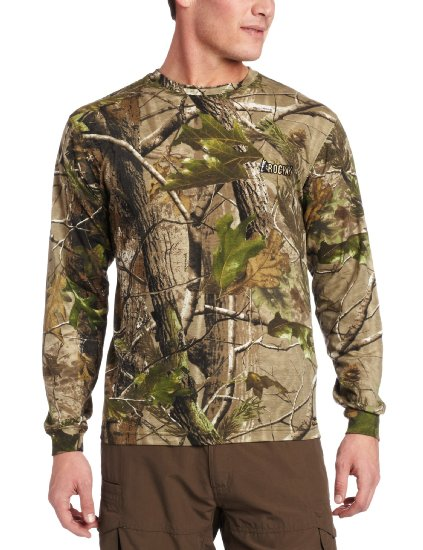 Hunting Rocky Men's Vitals Cotton Long Sleeve T-Shirt