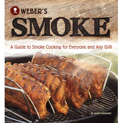 If you have a grill, then you can smoke! Webers Smoke book is authored by Jamie Purviance, a high-honors graduate of the Culinary Institute of America. It provides comprehensive guidance on creating rich, smoky flavor on any grill or in traditional smokers. Delicious, triple-tested recipes 85 of which are brand new accompany introductory- and advanced-level instructions. Learn about pairing different smoking woods with different types of foods. 192 pages. Softcover. Color: Smoke. Type: Cooking & Food Processing Books. - $16.46