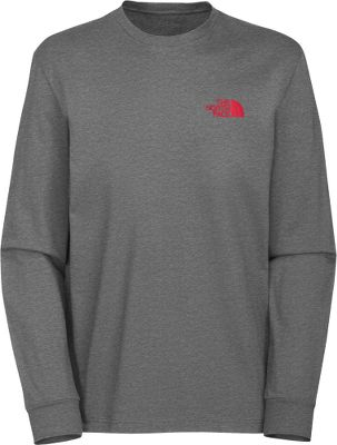 Entertainment Keep it comfortable while youre out exploring your world. Easy-care fabric is crafted of lightweight and cozy 100% cotton jersey. Ribbed cuffs and collar. Red box graphic on back. Machine washable. Imported.Center back length: 28.5.Sizes: M-2XL.Colors: Heather Grey, Deep Water Blue. - $30.00