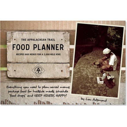 Camp and Hike Both a how-to guide and cookbook, The Appalachian Trail Food Planner offers planning tips on shipping, packing and cooking healthy, nutritious food  while you journey along the famous route. - $18.95