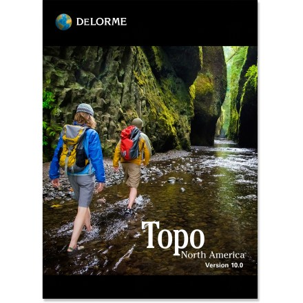 Camp and Hike The updated DeLorme Topo North America 10.0 DVD offers the latest terrain, road and GPS mapping for accurate, confident planning and navigation of your outdoor adventures. - $49.93