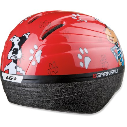 Fitness Designed for first-time riders, the Louis Garneau Baby Boomer bike helmet offers the protection needed to ease your mind. - $20.73