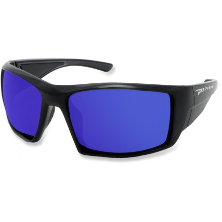 Camp and Hike The Pepper's Quiet Storm polarized sunglasses are ready for summer's brightest days. With a sleek style and great fit, these sunglasses will be your first choice for sun-filled fun. - $44.95