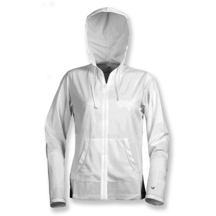 Fitness From mountain biking to trail running, the White Sierra Insect Shield Swamp full-zip hoodie wicks moisture and repels bugs to enhance your comfort during active summer days. Soft polyester mesh knit fabric is lightweight, stretchy and quiet; it wicks moisture away from your skin to the outer fabric where it can evaporate for cool, dry comfort. EPA-registered, odorless Insect Shield(R) Repellent Apparel repels mosquitoes, ticks, ants, flies, chiggers and midges (no-see-ums). Insect Shield(R) Repellent Apparel is effective through 70 washes. Fabric provides UPF 30 sun protection, shielding skin from harmful ultraviolet rays. Drawcord hood and kangaroo hand pockets. The White Sierra Swamp full-zip hoodie has flatlock seams to maximize motion and minimize abrasion. - $19.73