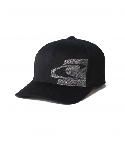Surf O'Neill Flexfit hat with logo embroidery and curved visor. - $18.99