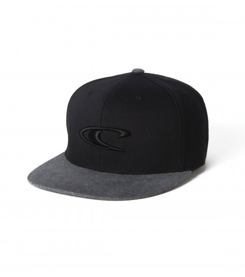 Surf O'Neill Flexfit hat with wave raised embroidery and slightly curved visor. - $26.00