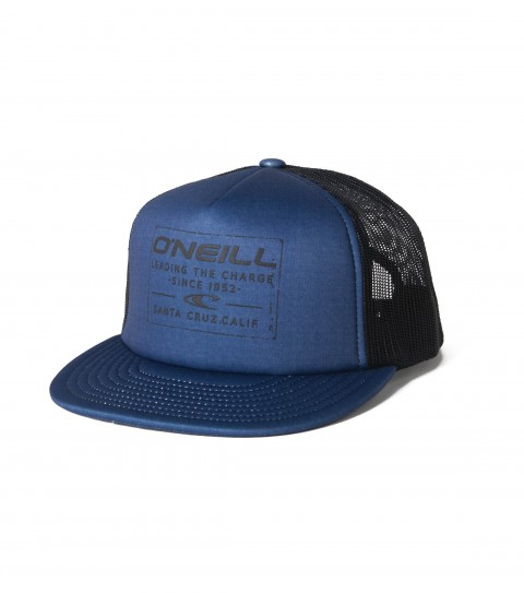 Surf O'Neill deep fit trucker hat with sublimated front panel and visor; sonic welded front screen; snapback closure and slight curved visor. - $16.99