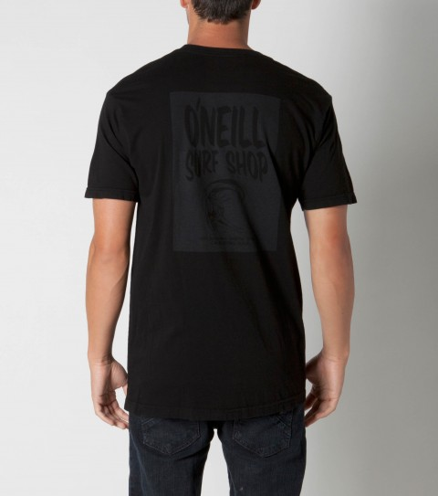Surf O'Neill tee 100% ringspun cotton; prewashed 30 singles slim fit tee with softhand screenprint. - $22.99
