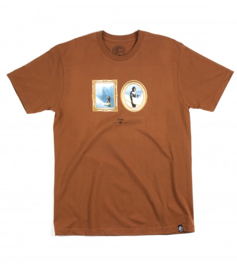 Surf O'Neill Framed Tee; 100% Ringspun cotton; prewashed slim fit tee; softhand screenprint - $15.99