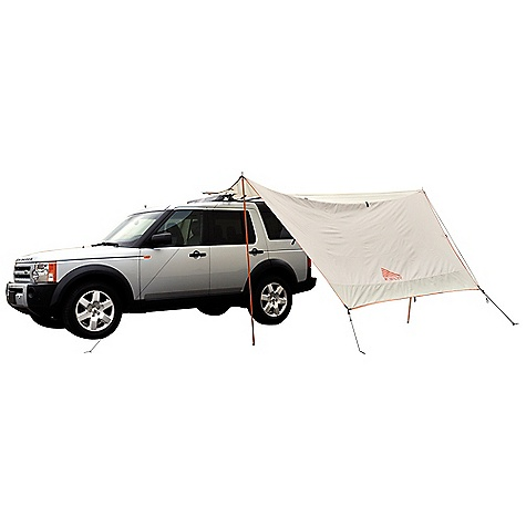Free Shipping. Kelty Car Tarp DECENT FEATURES of the Kelty Car Tarp Guyout points Taped seams The SPECS Seasons: 3 Number of Poles: 3 Pole Type: DAC DA17, Fiberglass Fly: 68D Polyester 450 mm Minimum Weight: 4 lbs 1 oz / 1.8 kg Packaged Weight: 4 lbs 9 oz / 2.1 kg Floor Area: 110 square feet / 10.2 square meter Dimension: 140 x 140in. / 356 x 356 cm Packed Dimension: 5 x 21in. / 13 x 53 cm - $109.95