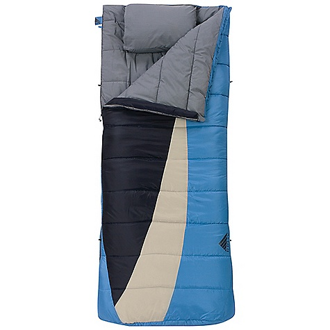 Camp and Hike Free Shipping. Kelty Eclipse 15 Sleeping Bag DECENT FEATURES of the Kelty Eclipse 15 Sleeping Bag Layered, offset, quilt construction Dual slider, locking blanket zipper Zipper draft tube with anti-snag design Can be fully unzipped and opened flat for use as a blanket Internal liner loops Sleeping pad security loops Includes integrated compression storage sack FatMan and Ribbon drawcords Captured cordlock Zippered chest pocket Tuck away, integrated pillow pocket Ergonomic footbox Two bags can be zipped together to form a double-wide The SPECS Temperature Rating: 15deg F / -9deg C Shape: Rectangular Insulation: CloudLoft Shall: 50D Polyester Ripstop Liner: Polyester-Cotton Fits To: 6' 6in. / 198 cm Length: 80in. / 203 cm Shoulder Girth: 68in. / 173 cm Fill Weight: 3 lbs 4 oz / 1.46 kg Total Weight: 6 lbs 4 oz / 2.80 kg Stuff Diameter: 14in. / 36 cm Stuff Length: 28in. / 71 cm - $109.95