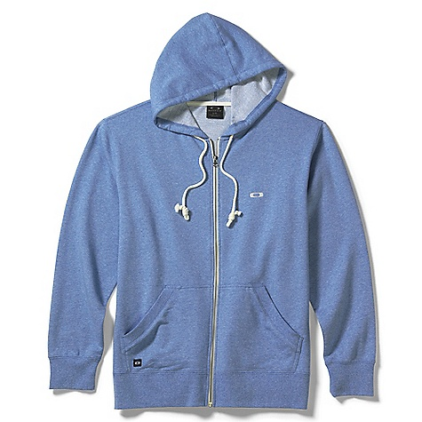 Free Shipping. Oakley Men's Pennycross 2.0 Cotton Fleece Hoodie DECENT FEATURES of the Oakley Men's Pennycross 2.0 Cotton Fleece Hoodie French terry fabric and a drawstring hood keep you warm Marsupial pocket with internal media pocket and cord hole provides specialized storage Ribbed cuffs and hem provide durability and comfort Front logo embroidery 78% Cotton, 22% Polyester - $60.00