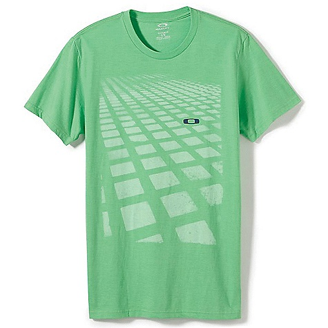 Oakley Men's Blocks On Blocks Tee DECENT FEATURES of the Oakley Men's Blocks on Blocks Tee Tee with front screen print 50% Cotton / 50% Polyester Fit: Regular - $25.00