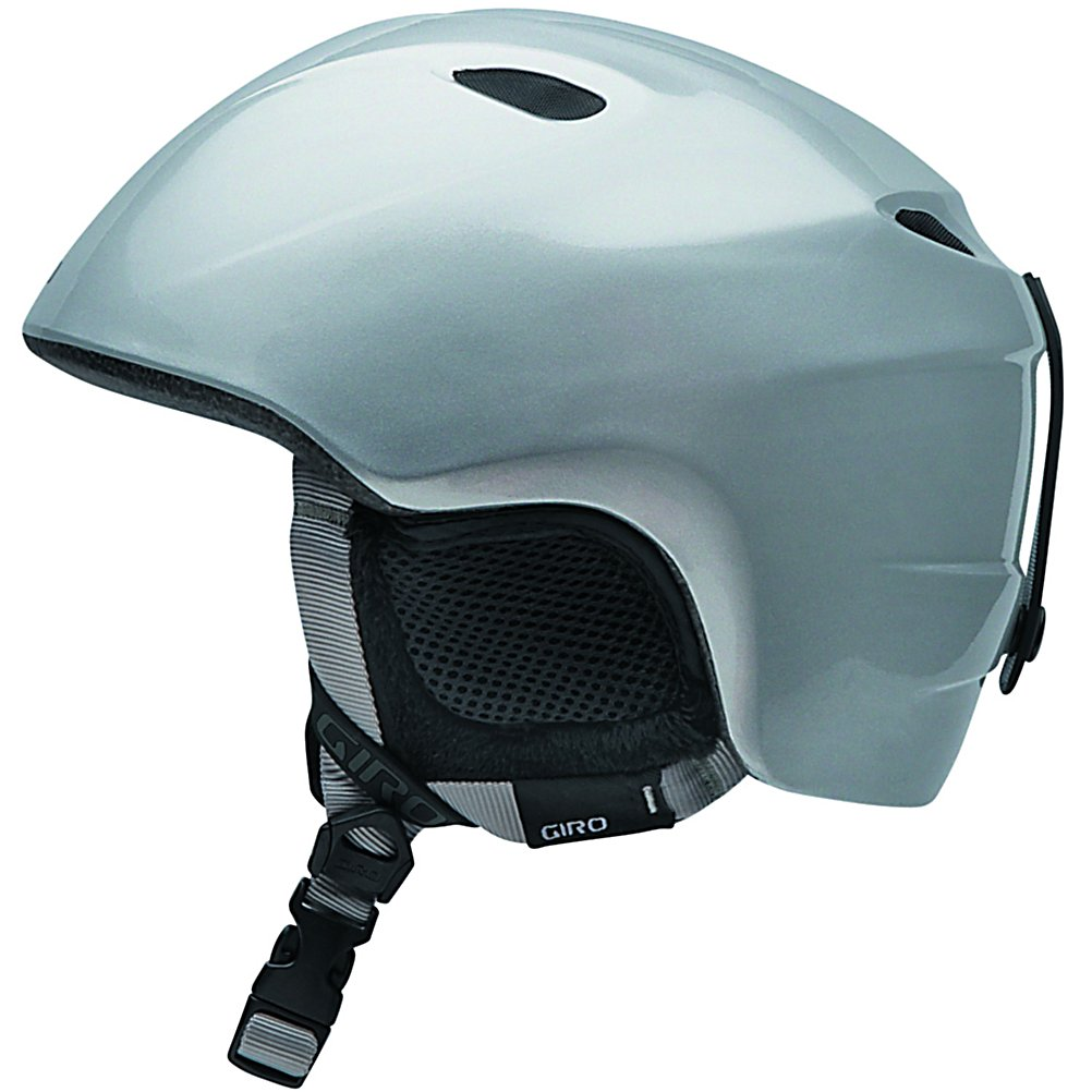 Ski The most current and best technologies have been combined together in creating this lightweight, comfortable and durable Slingshot Ski Helmet by Giro. The In-Mold construction has a tough polycarbonate outer shell with the helmet's impact-absorbing foam liner to give the protection you need if you are just learning to ski or snowboard. If you are not a beginner, it is good to know that this Slingshot helmet will protect and cover your head from injuries. The great fit is due to the In Form Fit system that provides you with a custom fit by using the dial at the base of the helmet. This dial provides up to 6cm of adjustment and enhanced stability to accommodate different size goggles and head shapes for that custom fit each and every time that you wear this stylish, graphic, high performance helmet. There are also super cool vents to allow for the fresh air to be pulled into this helmet while letting the heat and stale air escape. These 4 super cool vents help you to regulate your own temperature and keep you feeling and smelling fresher as the day progresses. Now your child can have a soft and cozy interior for high comfort, along with great style with the latest technologies all wrapped up into this one Slingshot Ski Helmet.   2 In Form youth sizes: XS/S (49-52cm) M/L (52-55.5cm),  In Mold construction,  4 super cool vents,  Comfortable and lightweight,  ASTM F2040 / CE EN 1077 Certified,  GTIN: 0361857292810, Model Number: 2016177, Product ID: 163320, Model Year: 2012, Shell Construction: In-Mold, Year Round Capable: No, Adjustability: Full, Ventilation: Fixed, Brim/Visor: No, Audio: Audio Compatible, Category: Half Shell, Race: No, Gender: Kids, Warranty: One Year, Certifications: ASTM F2040 / CE EN 1077 - $59.95