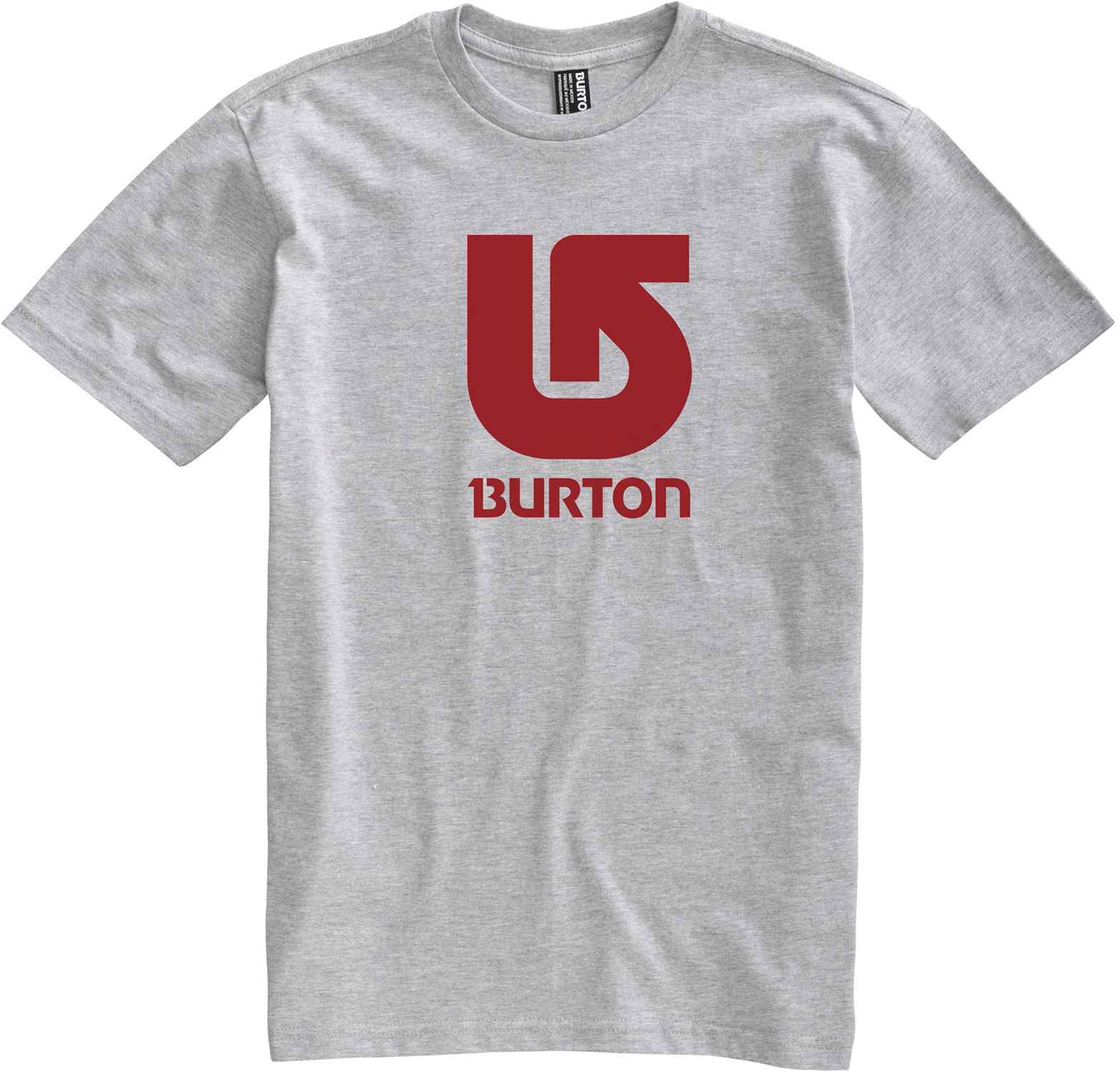 Snowboard Key Features of The Burton Logo Vertical T-Shirt: Regular Fit Crew Neck Short Sleeve 100% Cotton Screen Print on Front and Back Regular Fit XS-XL - $12.95