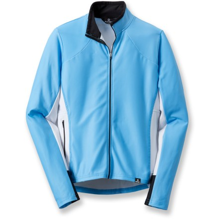 Fitness Smooth, stretch polyester and brushed microfleece interior blend together in the comfortable, fitted Canari Century bike jersey that stretches to keep up with your every move. Breathable microfleece interior insulates while wicking moisture away from skin and drying quickly when wet. Full-length front zipper provides immediate ventilation when you need to cool off; tall collar adds extra warmth on chilly days. 2 rear drop pockets and side zippered pocket provide easy, secure storage options for your riding essentials. Closeout. - $35.73