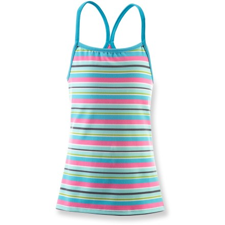 Surf The girls' SOYBU Cutie tank celebrates warm summer weather with soft comfort and fun, sporty style. - $6.83