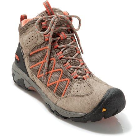 Camp and Hike Move fast and feel light during your next day hike with the Keen Verdi II Mid WP hiking boots. - $66.83