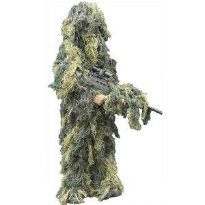 Hunting UAG Tactical Military Hunting Sniper Special Ops Woodland Camo Camouflage Deluxe Ghillie Full Body Suit   $69.95