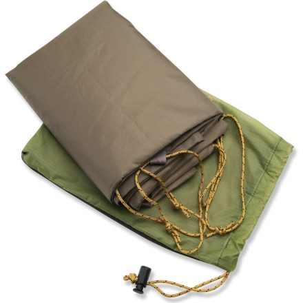 Camp and Hike Used underneath your MSR Carbon Reflex 3 or Mutha Hubba NX, this nylon tarp extends the tent's life by protecting the floor from abrasion and excess wear. - $34.93