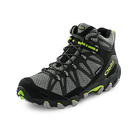 Camp and Hike Free Shipping. Oboz Men's Traverse Mid Boot DECENT FEATURES of the Oboz Men's Traverse Mid Boot Synthetic Leather and High Abrasion Resistant Textile Welded Stitchless Synthetic Micro-Suede Cage Oboz BDry Waterproof/Breathable Membrane BFit Lacing System TPU Heel Counter Metal Lace Hardware BFit Deluxe Dual Density EVA TPU Chassis Nylon Shank Granite Peak Outsole The SPECS Weight: 1/2 pair: 19.6 oz - $160.00